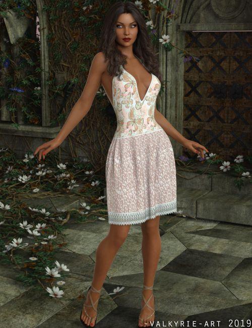 InStyle - dForce iV Summer Dream Dress for Genesis 8 Female(s)
