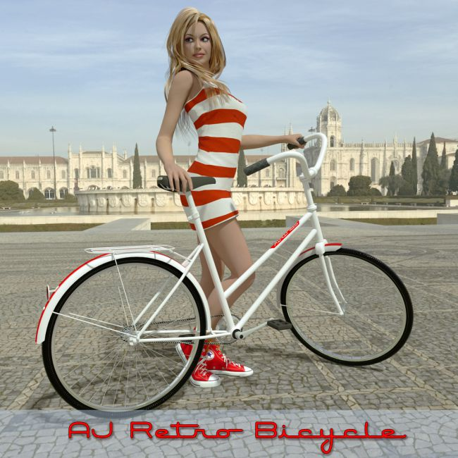 AJ Retro Bicycle