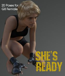 She's ready! for Genesis 8 Female