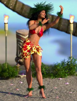 IGD Mea Hula Poses for Genesis 8 Female