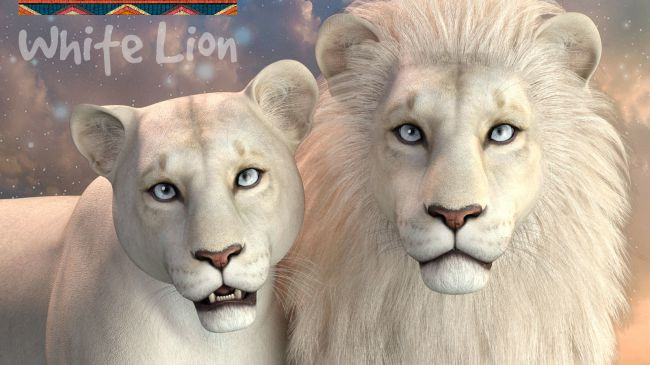CWRW White Lion for the HiveWIre Lion Family