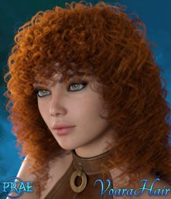 Prae-Voara Hair For G3/G8 Daz