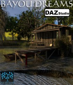 Bayou Dreams for Daz Studio