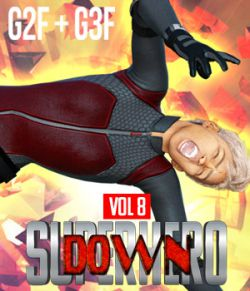 SuperHero Down for G2F and G3F Volume 8
