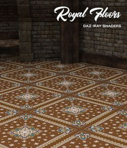 Daz Iray - Royal Floors