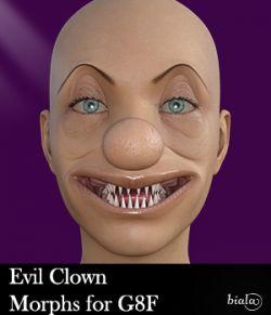 Evil Clown Morphs for G8F