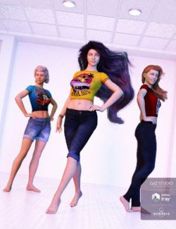 Fashion Poses for Genesis 3 and 8 Female(s)