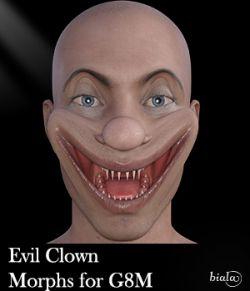 Evil Clown Morphs for G8M