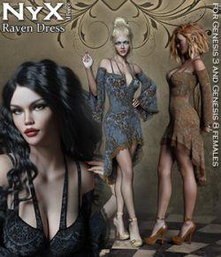 NyX Raven dForce Dress