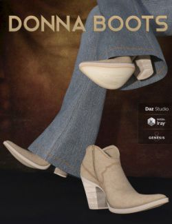 Donna Boots for Genesis 8 Female(s)