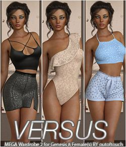 VERSUS - MEGA Wardrobe 2 for Genesis 8 Female(s)