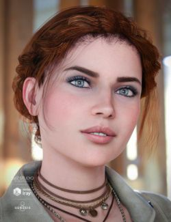 Braided Band Hair for Genesis 8 Female(s)