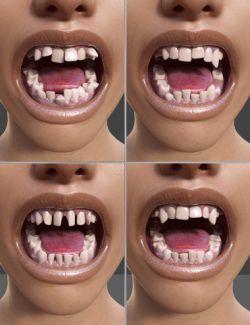 Teeth Master Control for Genesis 8 Female