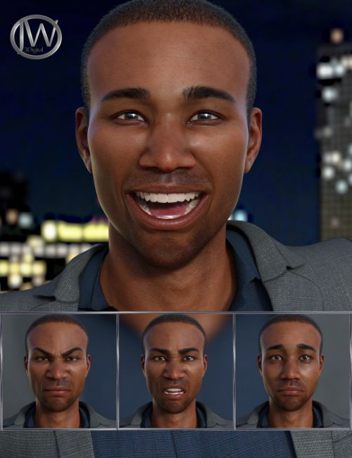 Famous - Expressions for Genesis 8 Male and Silas 8
