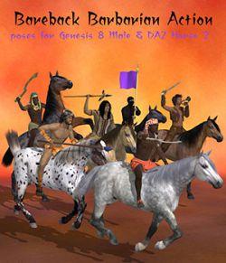 Bareback Barbarian Action
