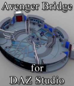 Avenger Bridge for DAZ Studio