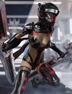dForce Eva 077 Outfit for Genesis 8 Female(s)