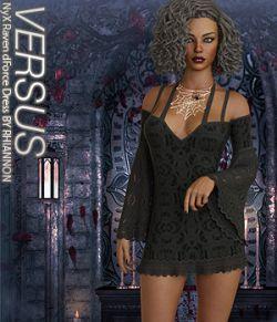 VERSUS- NyX Raven dForce Dress