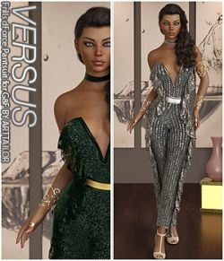 VERSUS - Frills dForce Pantsuit for G8F