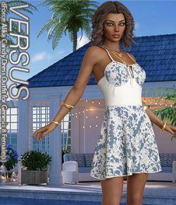 VERSUS- dForce Alika Candy Dress Outfit for Genesis 8 Females