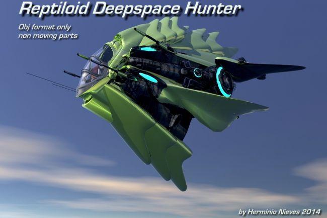 Reptiloid Deepspace Hunter