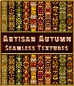 Artisan Autumn Seamless Textures
