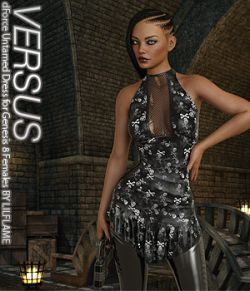 VERSUS - dForce Untamed Dress for Genesis 8 Females