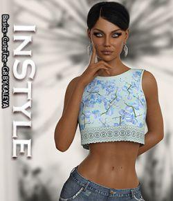 InStyle- Basics- Cute Tee- G8