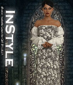 InStyle- dForce- Isabella Gown for G8F