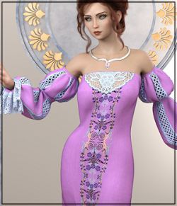 Epic: dForce - Isabella Dress for G8F
