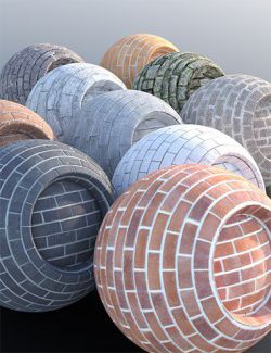 Brick Wall - Iray Shaders
