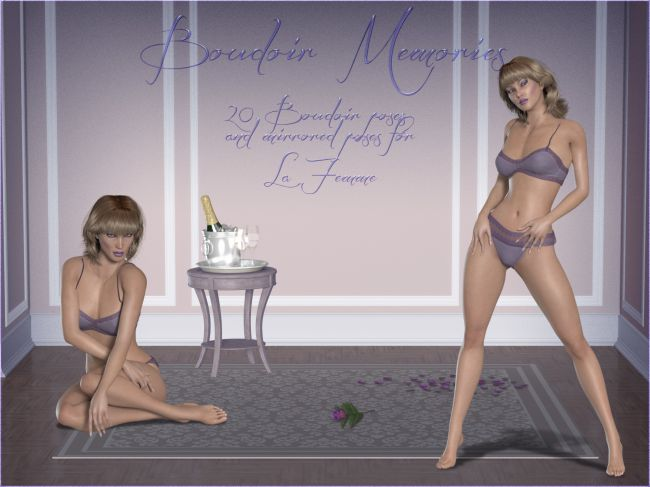 Boudoir Memories for La Femme