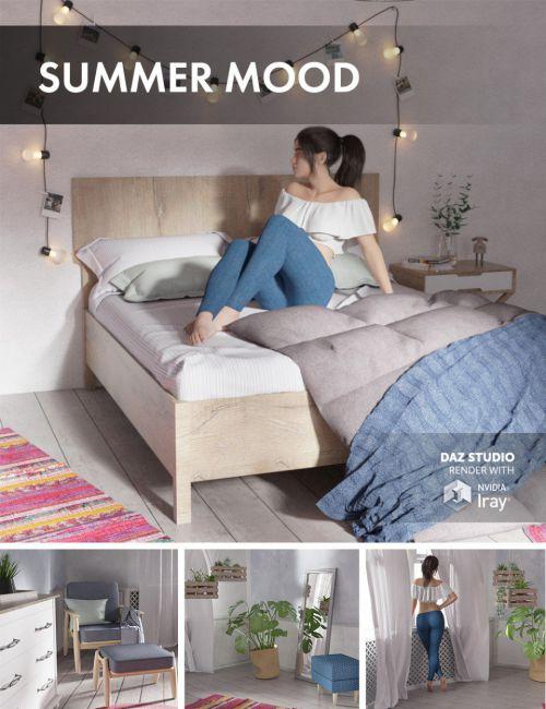 Summer Mood Bedroom