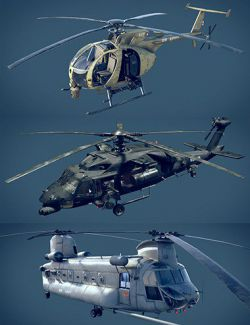 Military Helicopter Bundle