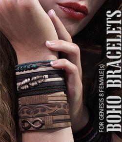 Boho Bracelets for Genesis 8 Females