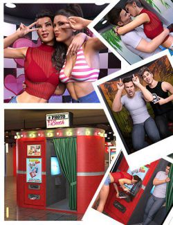 Z Photo Booth and Poses for Genesis 3 and 8