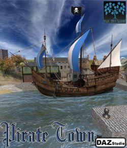 Pirate Town for DAZ|Studio