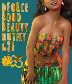 a93 - dForce BohoBeauty Outfit for G8F