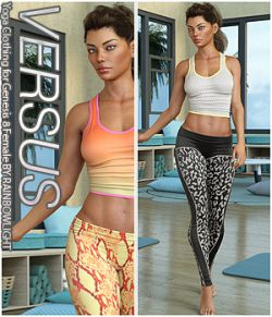 VERSUS - Yoga Clothing for Genesis 8 Female