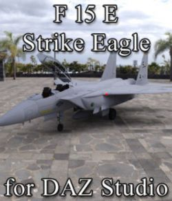 F 15E Strike Eagle for DAZ Studio