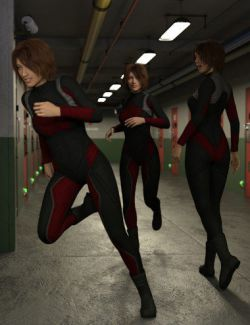 Bodies in Motion Poses for Genesis 8