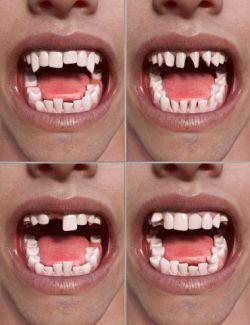 Teeth Master Control for Genesis 8 Male