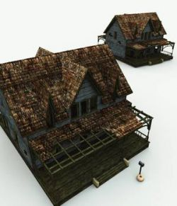 Abandoned House for Blender