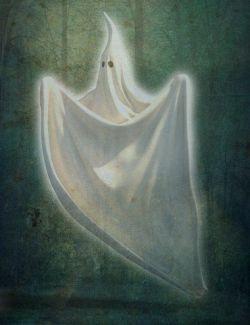 dForce Sheet Ghost for Genesis 8 Female