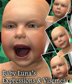 Baby Luna's Expressions & Visemes