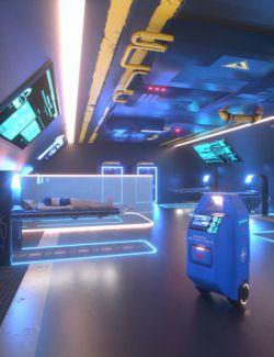 Sci-Fi Starship Medbay Volume 2