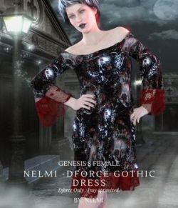Nelmi- dForce Gothic Dress G8F