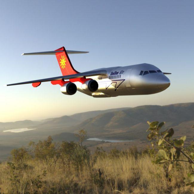 Aircraft 146 (for DAZ Studio)