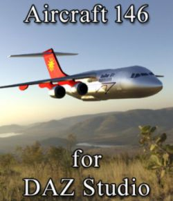 Aircraft 146 (for DAZ Studio)