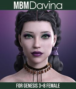 MbM Davina for Genesis 3 & 8 Female